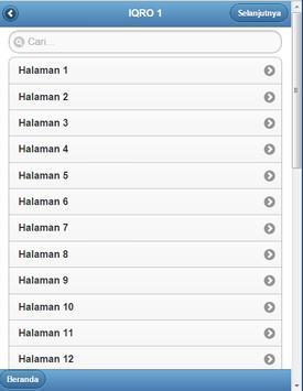 Buku Iqro Lengkap 1 - 6 apk screenshot