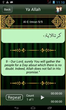 40 Rabbanas (Duaas of Quran) apk screenshot