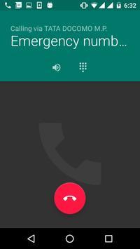 Call 112 apk screenshot