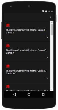 The Divine Comedy Audio Book apk screenshot