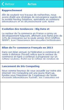 Iris Computing apk screenshot