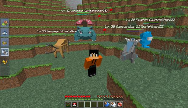 Craft Pixelmon Mcpe apk screenshot