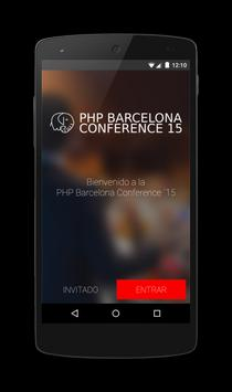PHP Barcelona Conference ´15 poster