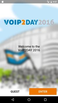 VoIP2DAY 2016 poster