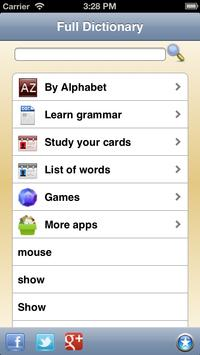 English Dictionary - Offline apk screenshot