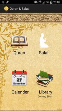 Quran & Salat poster