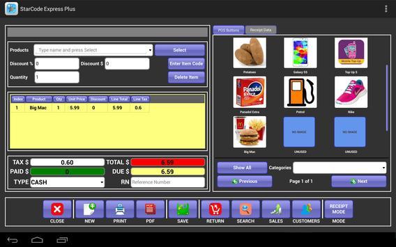 StarCode Express Plus POS apk screenshot