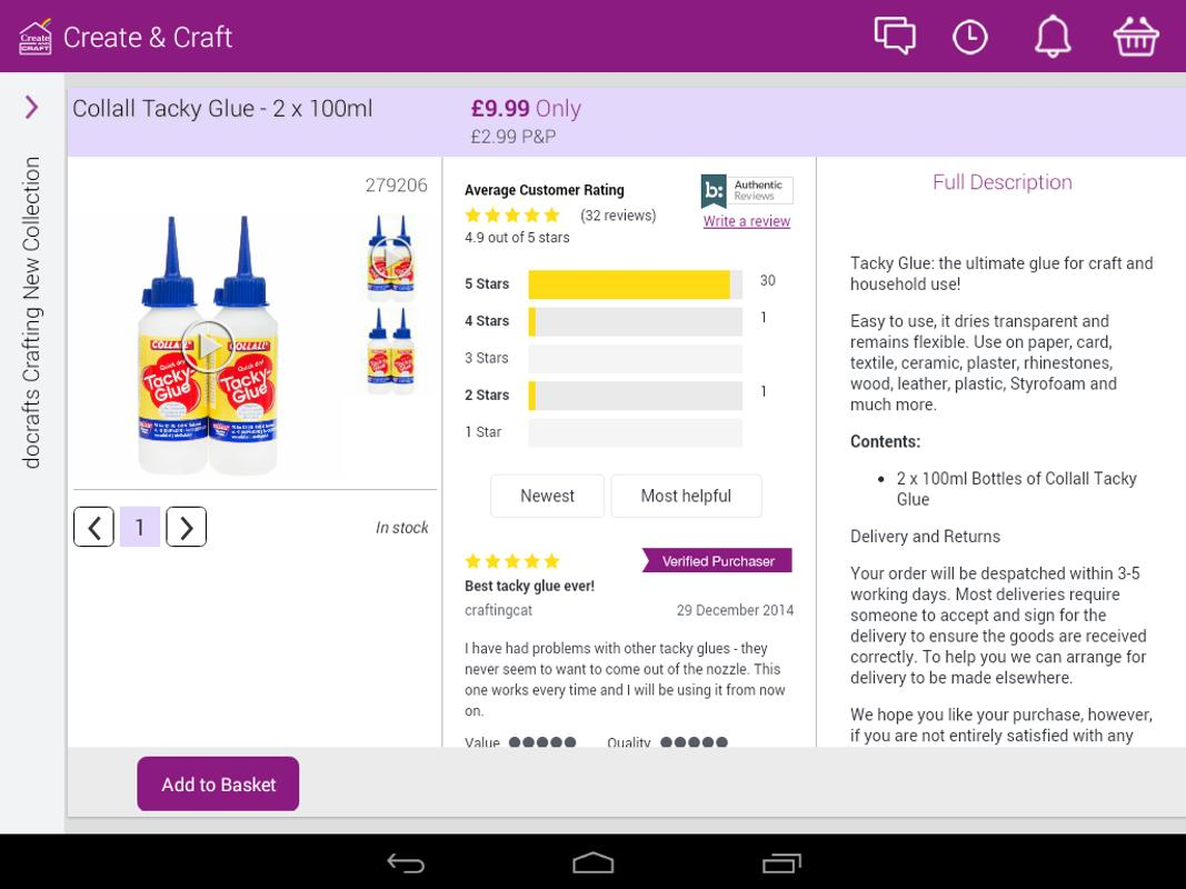 Create craft for tablets apk download free lifestyle for Create and craft app