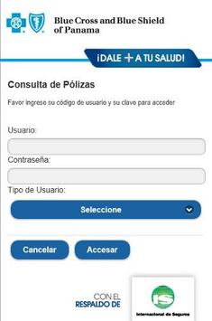 BlueCross & BlueShield Panamá apk screenshot