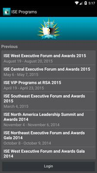 ISE® Programs poster