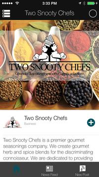 Two Snooty Chefs poster