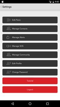 Mantis Security apk screenshot