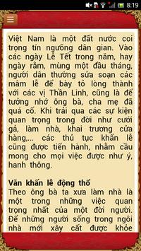Văn khấn Việt Nam apk screenshot
