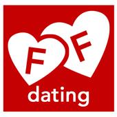 FlirtFinder dating & chat icon