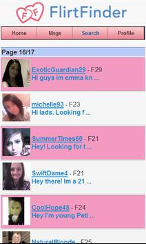 FlirtFinder dating & chat apk screenshot