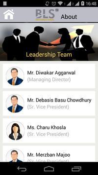 BLS Mobile App apk screenshot