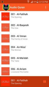 Audio Quran poster