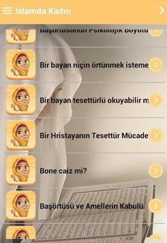 Islamda Kadın apk screenshot