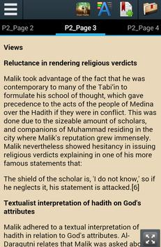 Biography of Imam Malik apk screenshot