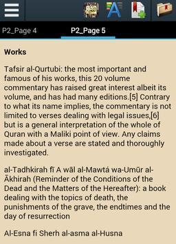 Biography of Imam Al-Qurtubi apk screenshot