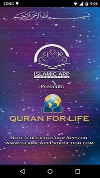 Quran For Life poster