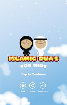 Kids Islamic Dua poster