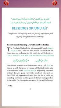 Blessing of Jumuah apk screenshot