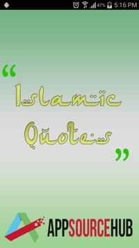 Daily Islamic Quotes poster