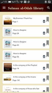 Salman al-Odah library apk screenshot