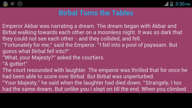 Akbar Birbal Tales in English apk screenshot