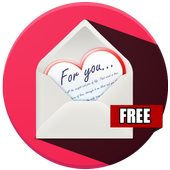 valentine cute and love Texts icon