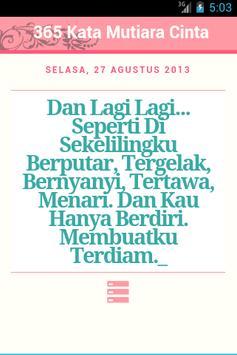 365 Kata Mutiara Cinta poster