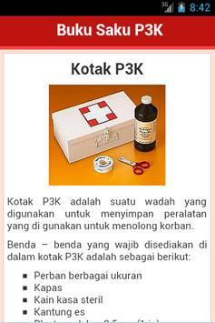 Buku Saku P3K apk screenshot