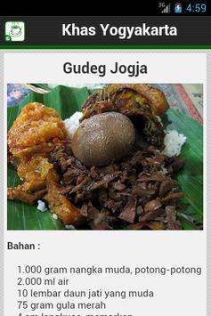 Resep Yogyakarta apk screenshot