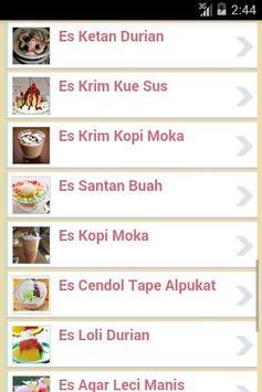 Resep Es apk screenshot