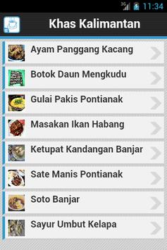 Resep Kalimantan poster