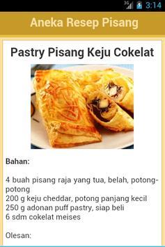 Resep Pisang apk screenshot