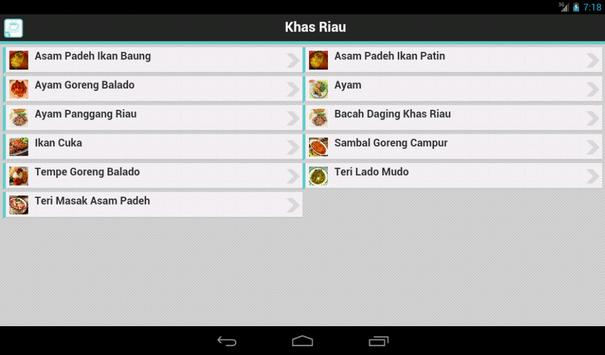 Resep Riau apk screenshot
