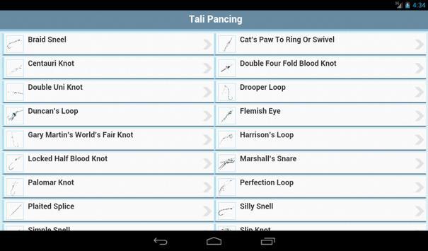 22 Cara Mengikat Tali Pancing apk screenshot