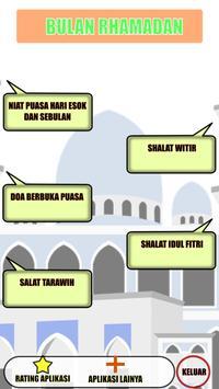 Tuntunan Ibadah Bulan Ramadhan poster