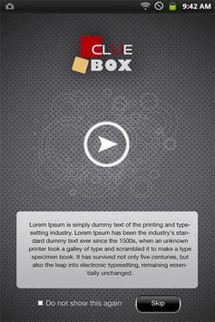 ClueBox apk screenshot