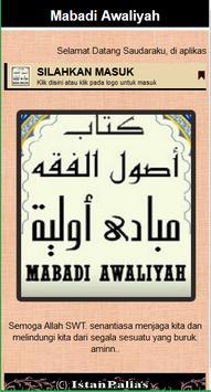Mabadi Awaliyah & Kaidah Fiqih apk screenshot