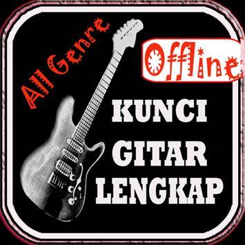 Kunci Gitar & Lirik Lagu A-Z poster