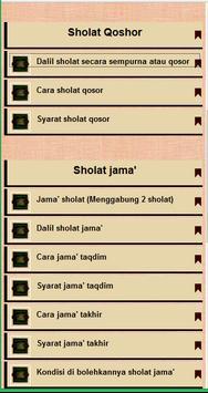Tuntunan Sholat Wajib & Sunnah apk screenshot