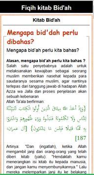 Fiqih Kitab Bid'ah & Khurafat apk screenshot
