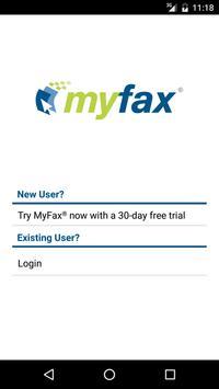 MyFax App—Send / Receive a Fax poster