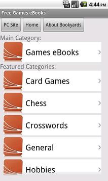 Games eBooks apk screenshot