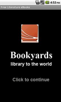 Literature eBooks poster