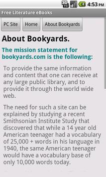 Literature eBooks apk screenshot