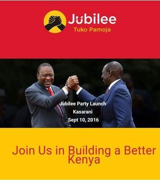 AmJubilee - TukoPamoja App poster